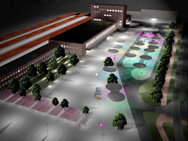 Vizualizace projektu přednádraží