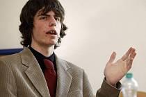 Student Filip Naiser obhajoval to, že jeho vědeckotechnický projekt není plagiát