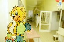 V dětském centru Veská