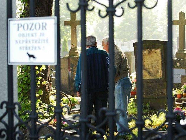 Hřbitov u pardubického krematoria
