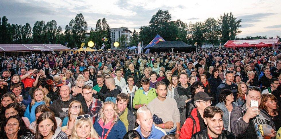 Pardubické závodiště v sobotu patřilo hudební akci Létofest.
