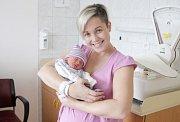 DOMINIK VESELÝ se narodil 21. listopadu v 8 hodin a 42 minut. Měřil 47 centimetrů a vážil 2430 gramů. Maminku Annu podpořil u porodu tatínek Ondřej. Doma v Lázních Bohdanči na nového sourozence čeká čtyřletá Viktorka.