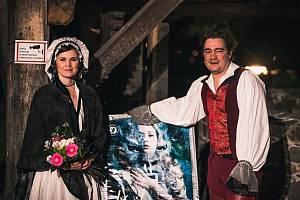 Nejoblíbenější herci Východočeského divadla v Pardubicích - Petra Janečková a Ladislav Špiner