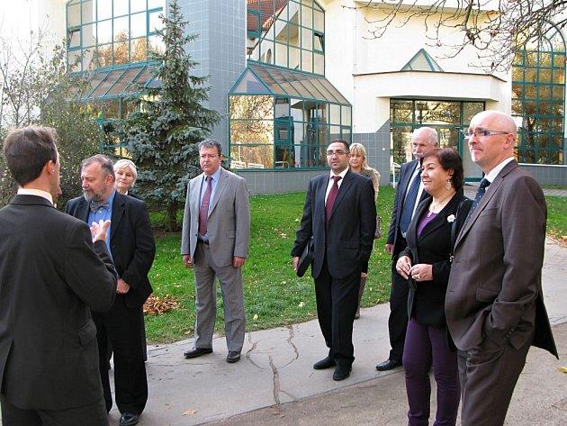 Delegace zástupců arabských států v Lázních Bohdaneč