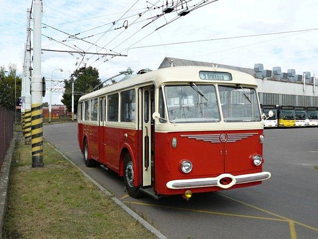 Trolejbus typu Škoda 8Tr