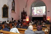Speciální projekce snímku Zapomenuté světlo se konala v kostele Zvěstování Panny Marie v Pardubicích.