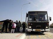 Zrekonstruované autobusové nádraží