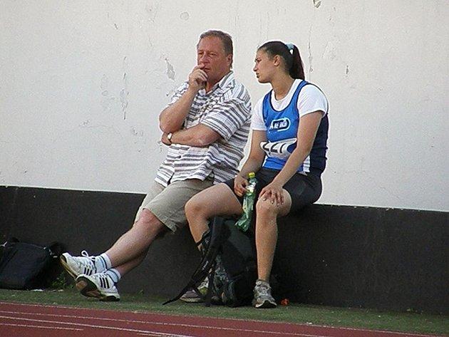 Pavel Studnička a Krystína Kroužková