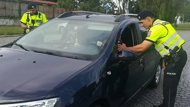 Policisté se zaměřili na alkohol a drogy za volantem