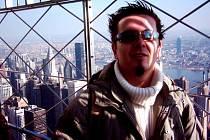 JIŘÍ ŠEVČÍK na Empire State Building.