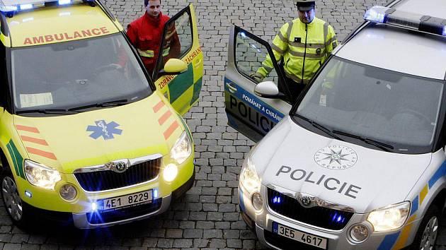 Nové vozy Škoda Yeti v záchranářském a policejním provedení