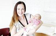 HELENA JAŠÍKOVÁ se narodila 11. srpna ve 13 hodin a 7 minut. Měřila 51 centimetrů a vážila 3580 gramů. Maminku Lenku podpořil u porodu tatínek Miroslav. Bydlí v Plačicích a doma na ně čeká dvouletá Valentýna.