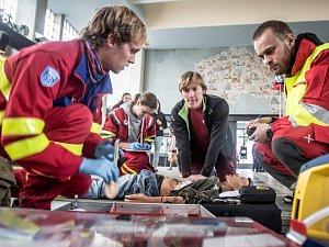 Soutěž záchranářů se jede jako skutečná služba