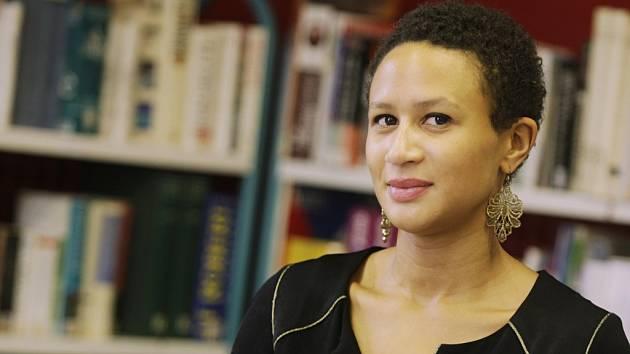 Ředitelka Francouzské aliance Diana Bangoura.