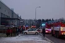 Zásah hasičů u TPE Čeperka