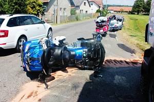 Nehoda motocyklu ve Chvojenci. Policie k ní hledá svědky