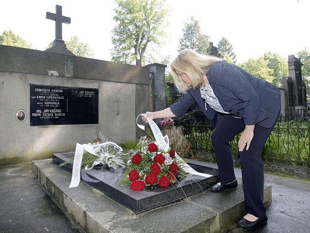 Místo posledního odpočinku prvního českého aviatika Jana Kašpara