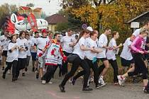 Nadační běh pardubických hokejistů