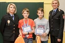 Ukázkový telefonát na linku 156 se dočkal odměny od Městské policie Pardubice.