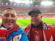 Do Wembley vyrazil i radní Pardubického kraje pro sport. Fandil se svým otcem.