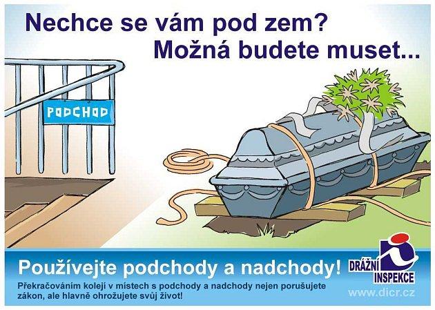 Preventivně - informační kampaň Drážní inspekce ČR