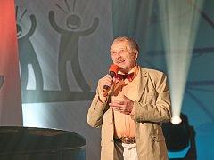 Jan Vodňanský jako držitel ceny Genius smíchu