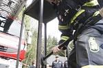 Jaromír Barcuch je profesionální hasič a je mu šedesát. Závod dokončil.