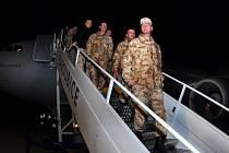 Veteráni afghánské mise se vrátili domů