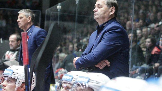 Hokejová extraliga: HC Dynamo Pardubice - HC Sparta Praha.