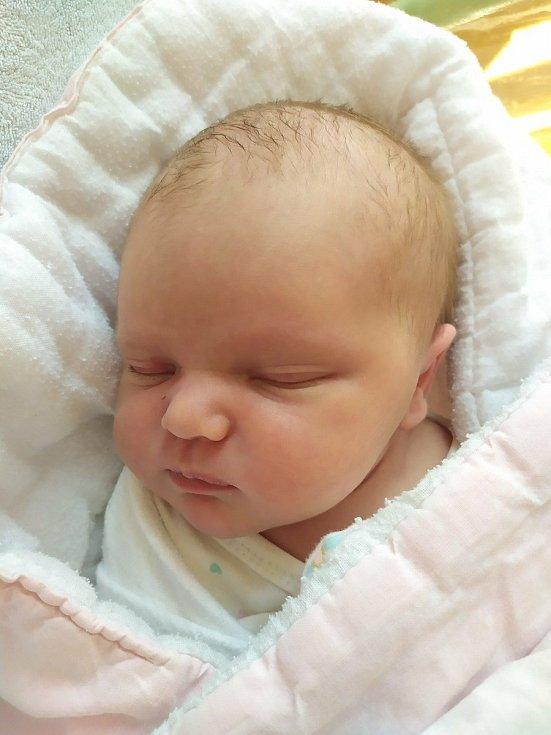 Eliška Víšková se narodila 29. 8. 2021 v 15:21 hodin. Vážila 3690 g a měřila 50 cm. Šťastní rodiče Iveta Šiklová a Jaroslav Víšek jsou z Chrudimi. Doma se na sestřičku těšil Matyášek (3 roky).