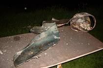 K výbuchu tlakové lahve v Čeperce došlo ještě před příjezdem hasičů