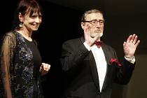 Patronem soutěžní komedie Můj romantický příběh na Grand Festivalu smíchu byl herec a bývalý člen pardubického souboru Ladislav Frej.