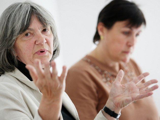 Alexandra Prokopová a Štěpánka Fraňková