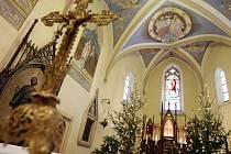 Středověké malby kunětického kostelíka mají podle Romana Ševčíka úroveň dvora císaře Karla IV.