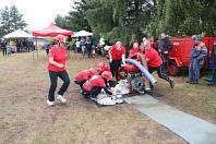 Dobrovolní hasiči z Opočínku existují od roku 1923. Mužské družstvo působí v dobrovolné i závodní požární činnosti, ženy se přidaly loni. Od letoška má jednotka i dětské družstvo.