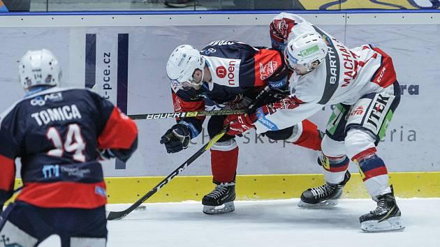 Baráž o extraligu - 10. kolo: Pardubice - Chomutov 0:3