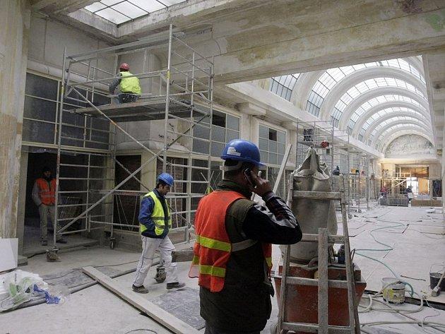 Rekonstrukce Machoňovy pasáže se blíží do finiše