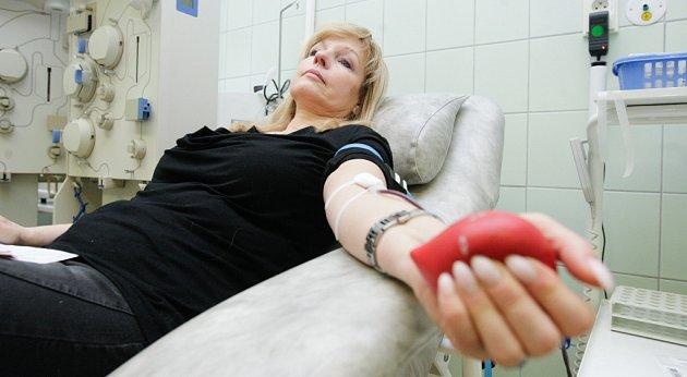 Valentýnské odběry krve.