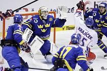 Česká republika - Švédsko 0:3