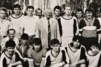 Historické zápasy TJ Sokol Roveň - SK Slavia Praha v letech 1990 a 2000 .