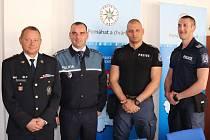 V Pardubicích od začátku května působí dva policisté z Bulharska a dva z Rumunska.