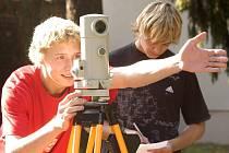 Studenti Vyšší odborné školy stavební a Střední školy stavební ve Vysokém Mýtě