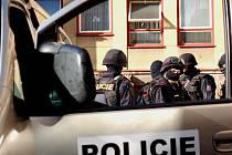 Dorazila policejní zásahová jednotka