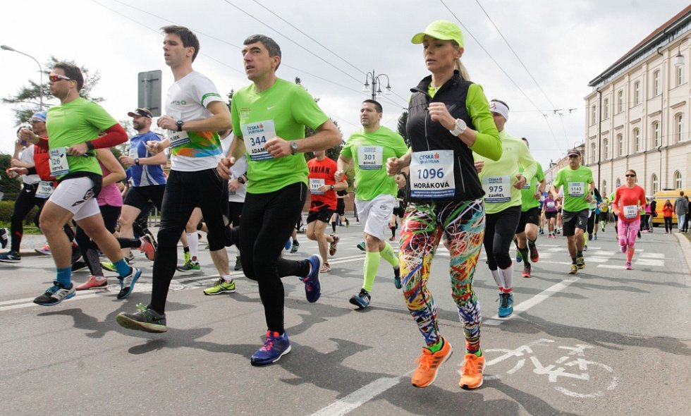 Pardubický vinařský půlmaraton 2017.