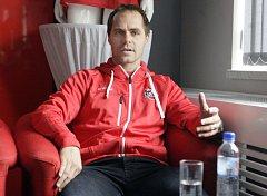 Kapitán hokejových Pardubic Tomáš Rolinek.