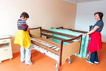 Z připravovaného domova pro seniory v Seči u Chrudimi.