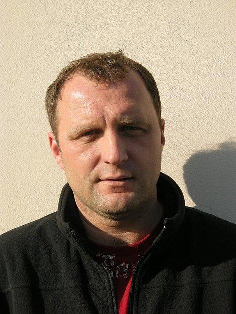 Trenér Rostislav Němeček
