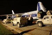 Obrněná vozidla Iveco po návratu z Afghanistánu.