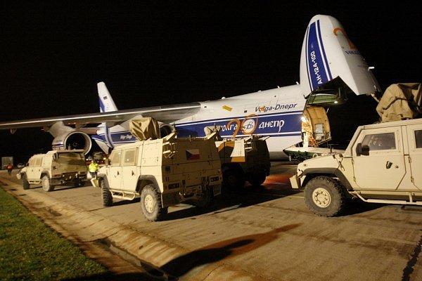 Obrněná vozidla Iveco po návratu zAfghanistánu.