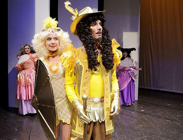 Divadelní inscenace Kráska